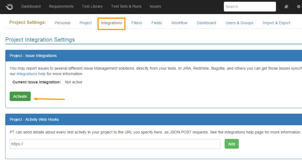 Redmine Test Case Management plugin - PractiTest