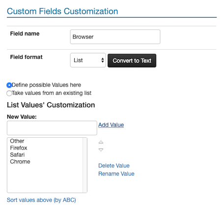 custom fields 2