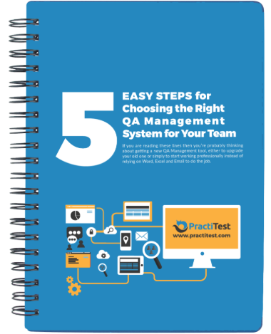 5 easy steps for choosing a QA management system COVER