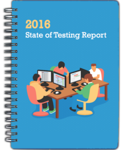 State of testing report 2016