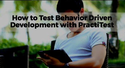 how to test bdd with PT