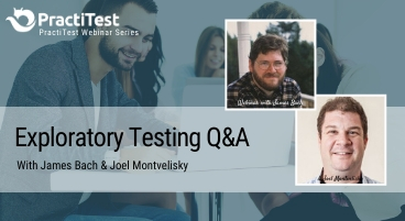 Exploratory and Session-Based Testing Webinar