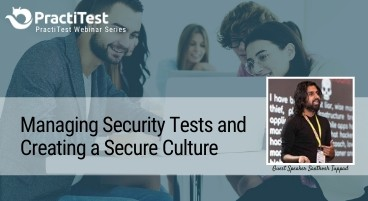 Managing Security Tests